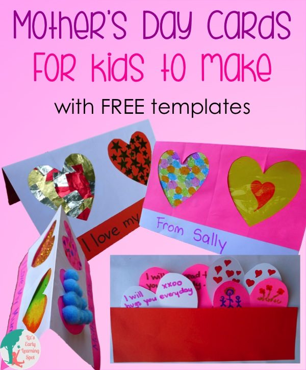 Mother S Day Cards Kids Heart