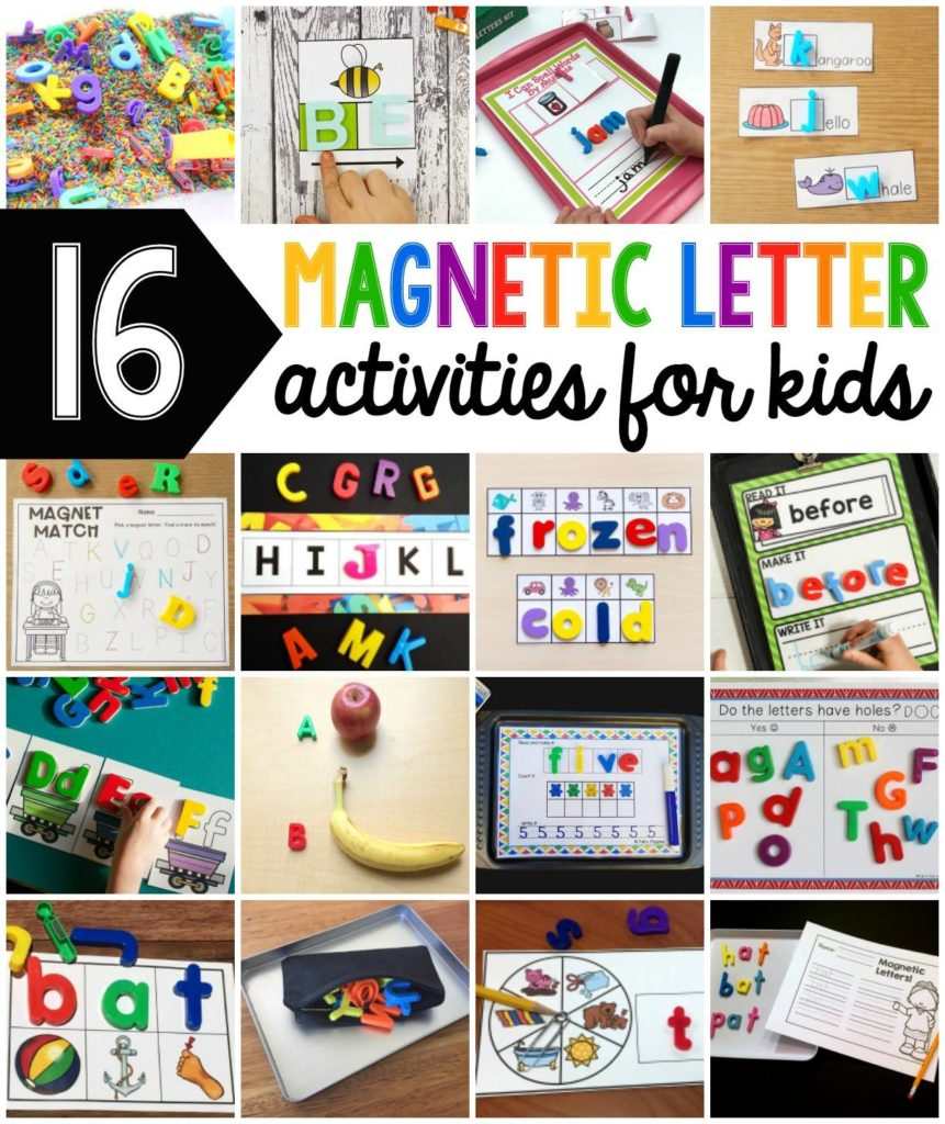 Magnetic Letters: from Beginning Sounds to CVC Words | Liz ...